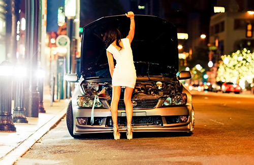 girl-and-car