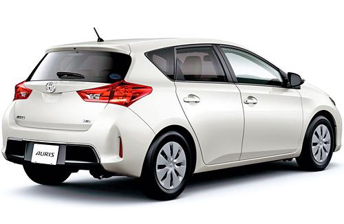 Toyota corolla и auris по госпрограмме